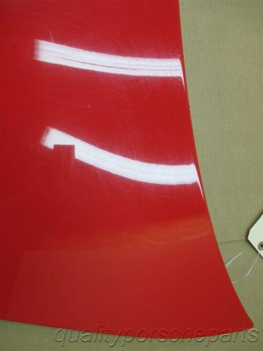 07 Boxster S RWD Porsche 987 Red Front Trunk HOOD COVER LID 83,845