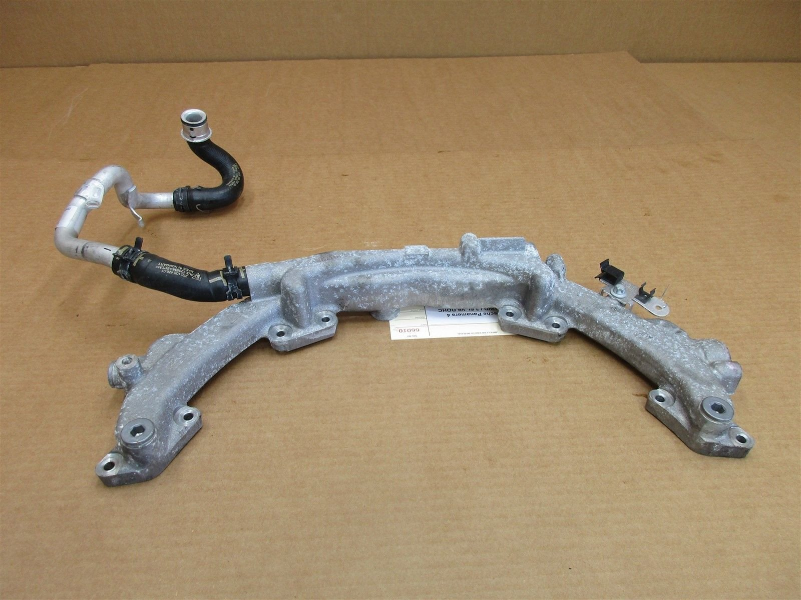 11 Panamera 4 AWD 970 Porsche Engine 3.6 WATER COOLANT PIPE 9481061613R 63,246