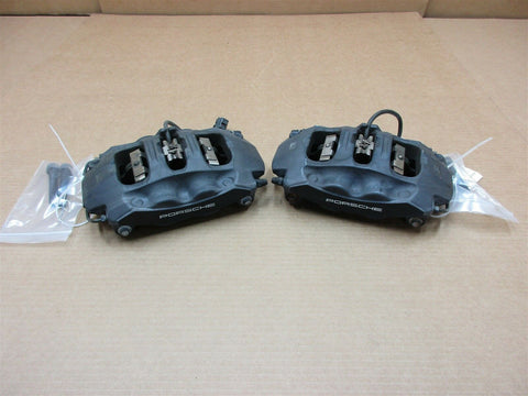 14 Cayman S Porsche 981 FRONT BREMBO BRAKE CALIPERS 997351421 997351422 32,109