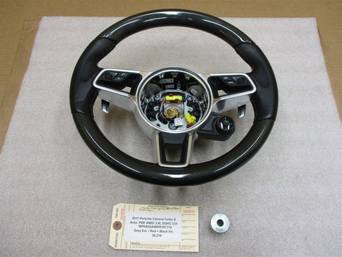 11 Panamera 4 970 Porsche L 3 SPOKE STEERING WHEEL AIR BAG 97080308904 118,668