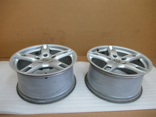 05 Boxster RWD Porsche 987 REAR RIMS WHEELS 9Jx18HLB ET43 98736213800 70,383