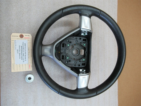 06 Cayenne AWD Porsche 955 3-SPOKE STEERING WHEEL 7L5419091AA 78,425