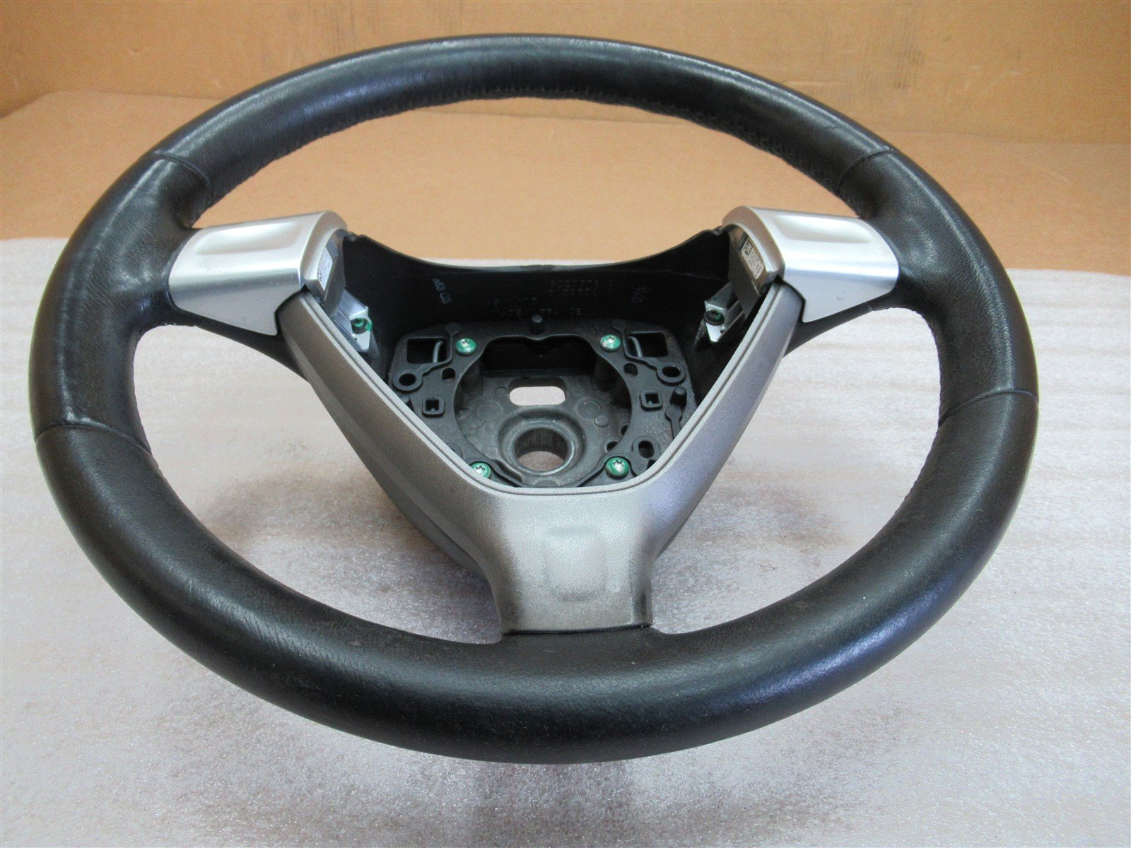 06 Boxster S RWD Porsche 987 3 SPOKE STEERING WHEEL 99734780403 95,517