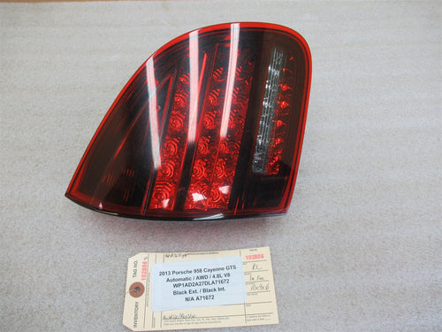 13 Cayenne GTS AWD Porsche 958 L REAR SIDE INNER TAILLIGHT 7P5945093S N/A A71672