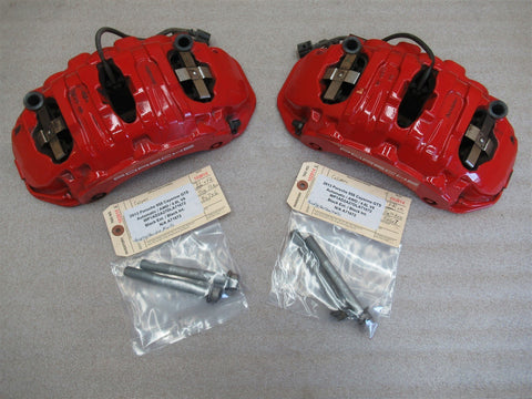 14 Cayman Porsche 981 L R FRONT BREMBO BRAKE CALIPERS 997351421 997351422 6,915
