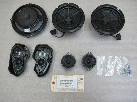2000 AWD Porsche 911 Carrera 4 00 Cabrio 996 R L DOOR SPEAKERS boxes 22,209