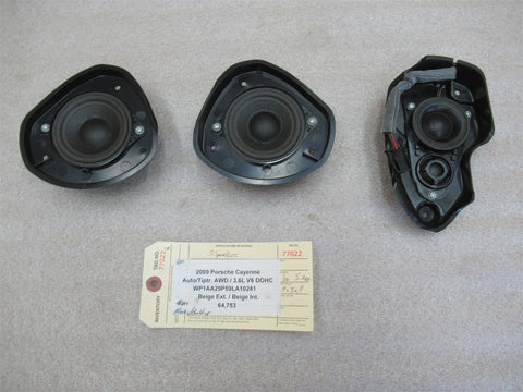 06 Cayenne Turbo S AWD Porsche 955 6 BOSE SPEAKERS 7L5035738 244,496