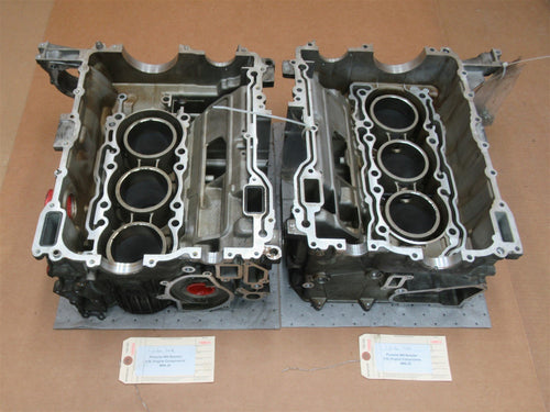 986 Porsche Boxster 2.5L Engine L R BLOCKS 9961011052R 9961011280R M96.20