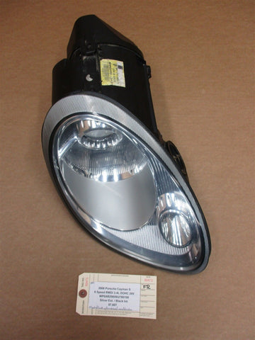06 Boxster RWD Porsche 987 R PASSENGER HEADLIGHT HEAD LIGHT 98763106421 73,065