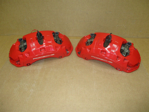11 Panamera 4 AWD 970 Porsche L R REAR BREMBO BRAKE CALIPERS 970352425 46,434