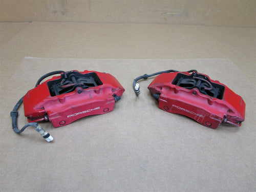 00 Boxster S Porsche 986 REAR BREMBO BRAKE CALIPERS 996352422 996352421 127,689