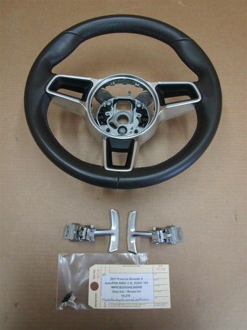 10 Panamera 4S 970 Porsche Leather STEERING WHEEL + SWITCHES 7PP419091P 21,213