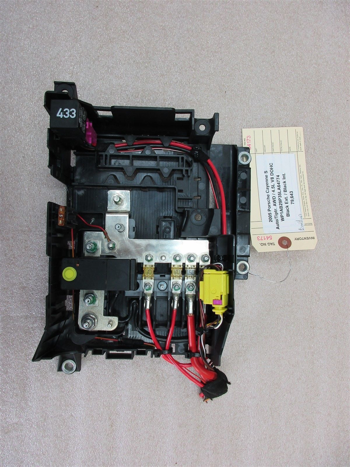 2005 Cayenne Fuse Box Wiring Library 05 S Awd Porsche 955 Relay 3d0951253a 79643