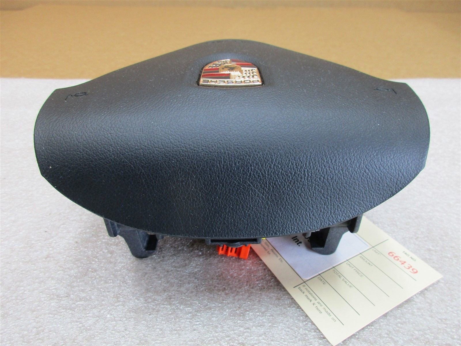 06 Cayman S RWD Porsche 987 L 3 SPOKE STEERING WHEEL AIR BAG 99780308905 24,512