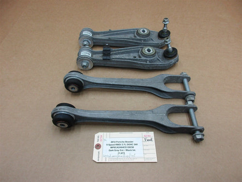 14 Boxster RWD Porsche 981 4 FRONT CONTROL ARMS 99134114301 99134134101 11,672