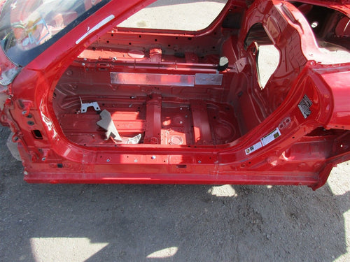 14 Cayman RWD Porsche 981 Red BODY FRAME Shell quarter roof rear side rail 6,915