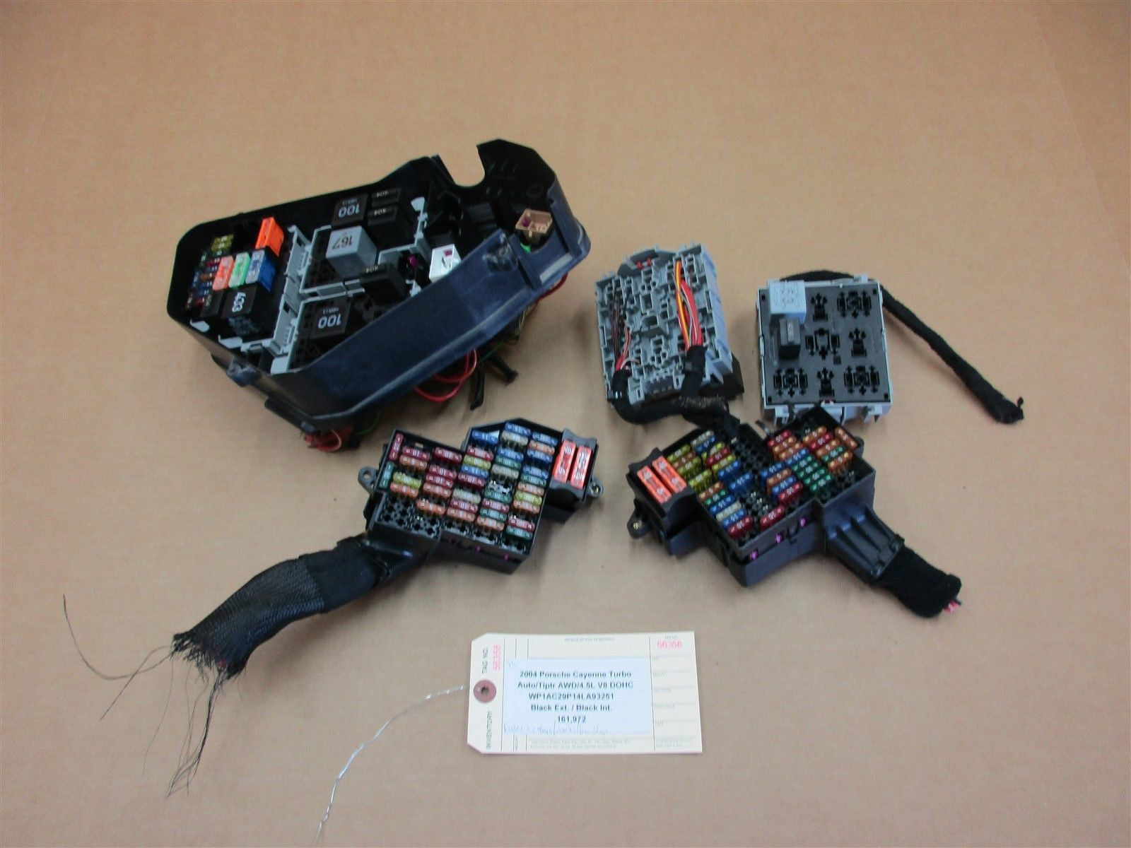 2004 Porsche Cayenne Fuse Box Diagram Wiring Library 2008 04 Turbo Awd 955 Relay 7l0941828 7l0937503a 2017