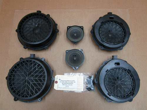 16 Macan S RWD Porsche 6 ASK SPEAKERS 97064565102 7PP035415J 7PP035454L 22,214
