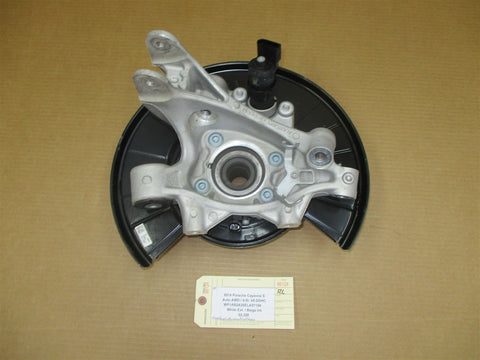 13 Carrera 911 RWD Porsche 991 L REAR HUB + STEERING KNUCKLE 99133161103 33,116