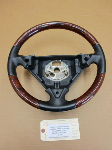 06 Carrera 4 Porsche 997 Black Leather 3 Spoke STEERING WHEEL 99734780403 11,094