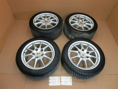 11 Panamera 4 AWD 970 Porsche RIMS WHEELS 19 97036215800 97036216000 118,668