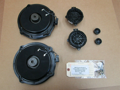 06 Cayenne Turbo AWD Porsche 955 L R 4 BOSS AFTERMARKET SPEAKERS 133,441