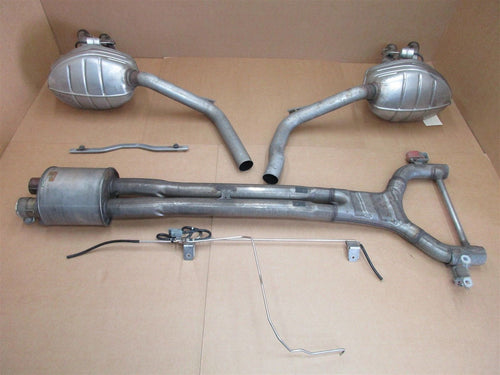 14 Panamera 4S Turbo 970 Porsche L R EXHAUST MUFFLERS + PIPES 97011118303 16 N/A