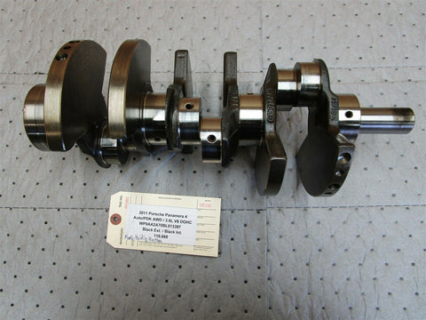 14 Panamera GTS AWD 970 Porsche Engine 4.8 CRANKSHAFT 9481015R 5 N/A