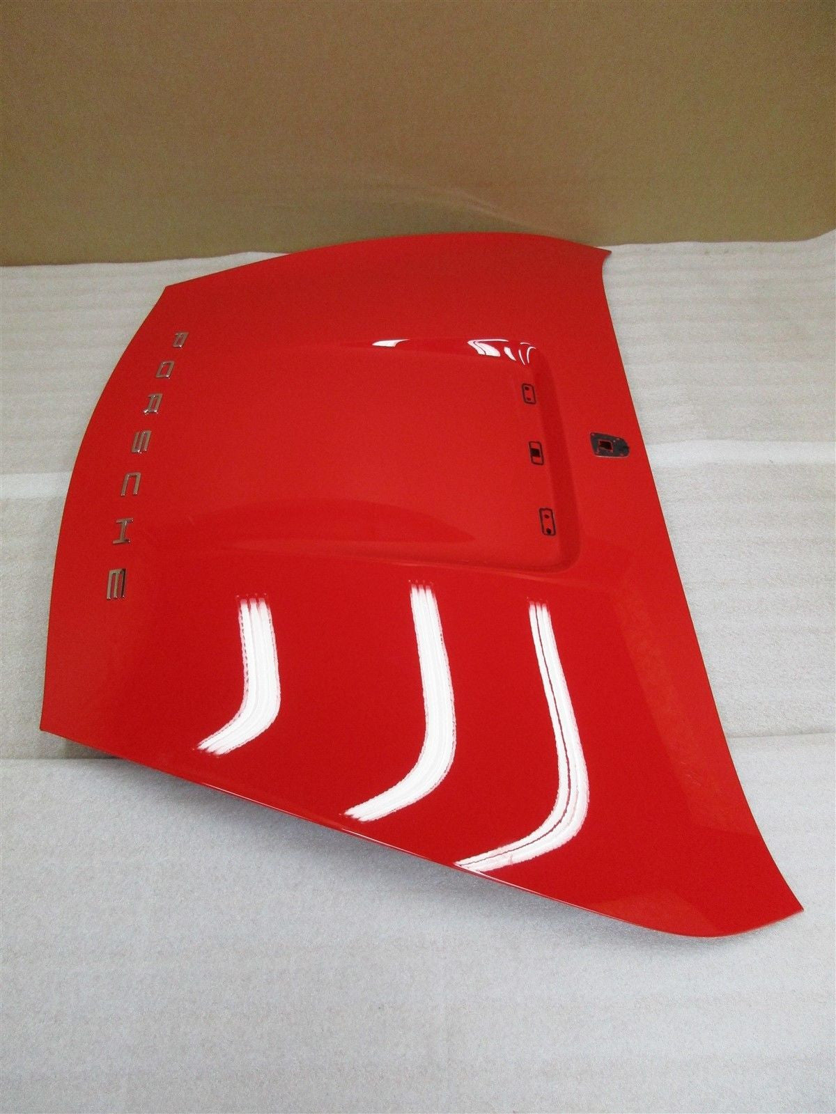 16 Boxster RWD Porsche 981 REAR EXTERIOR HOOD TRIM Red COVER 8,781