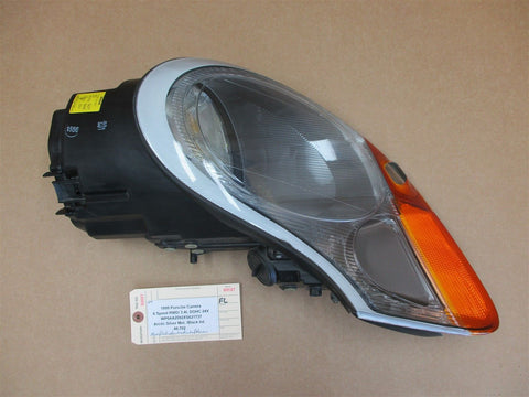 07 Boxster S RWD Porsche 987 L HALOGEN HEADLIGHT DRIVER HEAD LIGHT 38,323