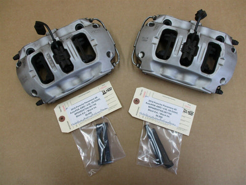 10 Panamera 4S AWD 970 Porsche REAR BREMBO BRAKE CALIPERS 970352425 56,000
