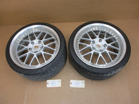 01 Boxster RWD Porsche 986 REAR RIMS WHEELS 8.5Jx17H2ET48 98636212606 112,512