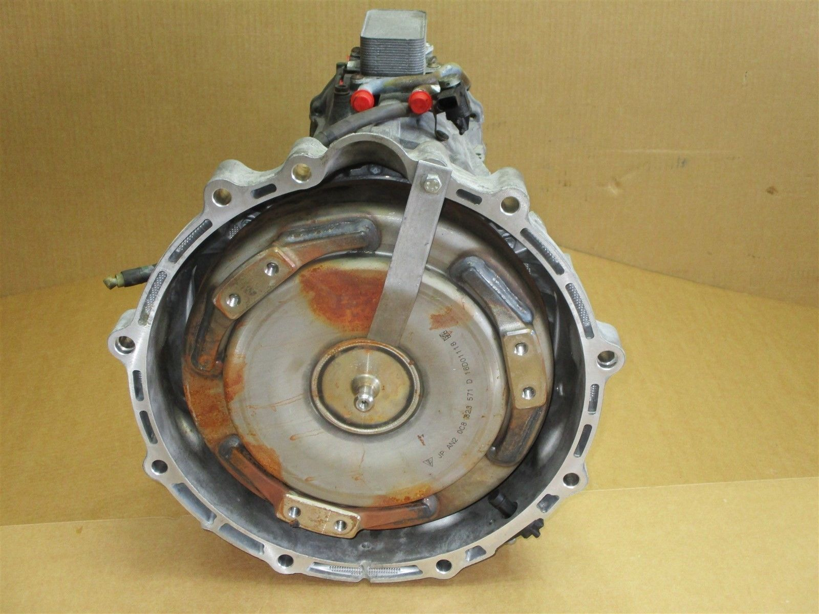 17 Cayenne Turbo AWD Porsche 958 AUTOMATIC TRANSMISSION NLD 0CD300037R 9,356