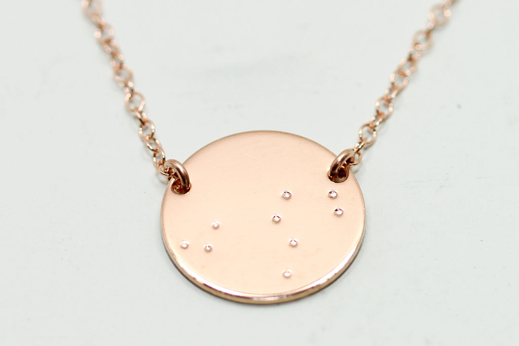 capricorn buy constellation diamond necklace women item shopping gregson brooke