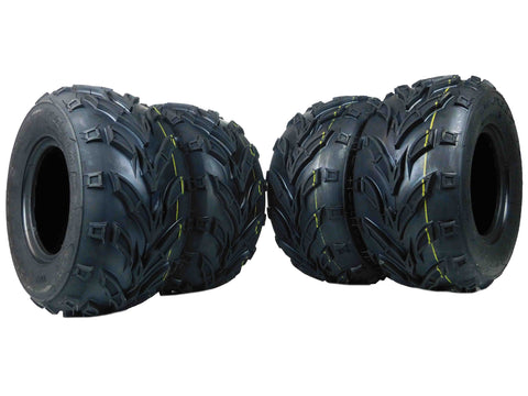 MASSFX Go Kart/ATV Tires 4 set 16x8-7 4Ply