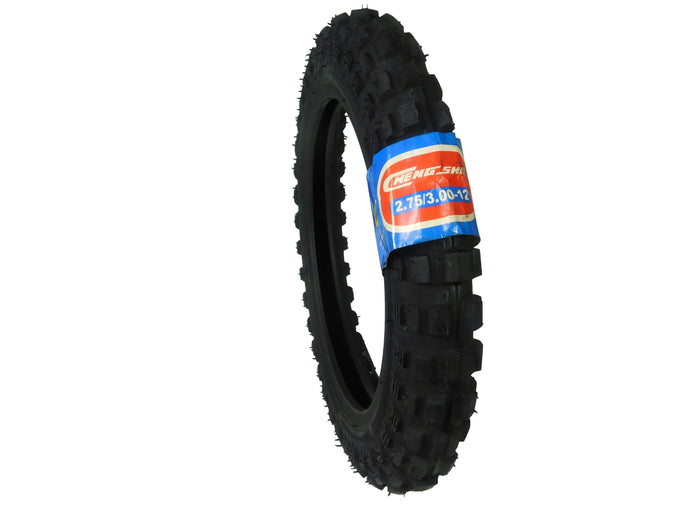 CST 2.75x3-12 FRONT/REAR Off Road 4 PLY Intermediate Dirt Bike Tire