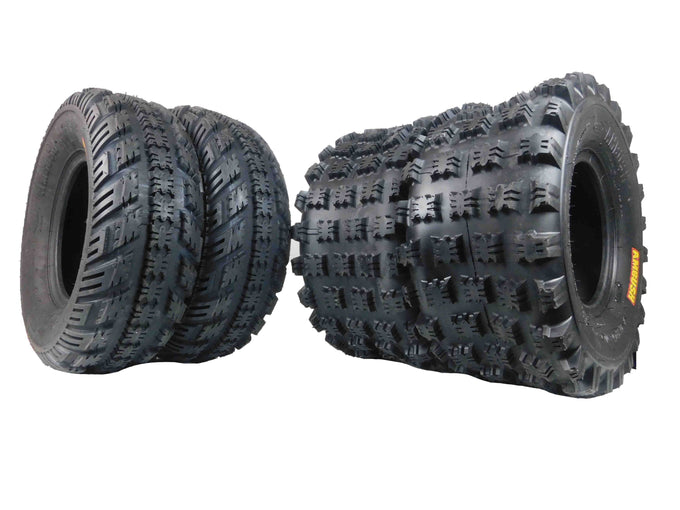 Ambush, 22x7x10, 20x10x9, Tire, Kit, 2 PLY