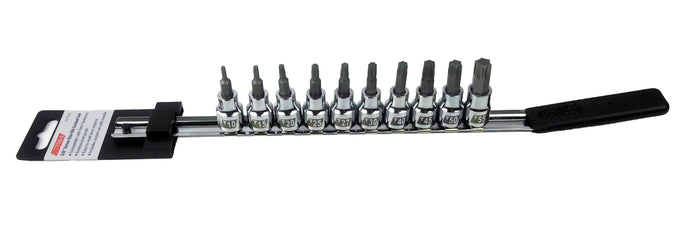 Cruz Tools, TX38TBS, Drive, Star Bit, Socket Set