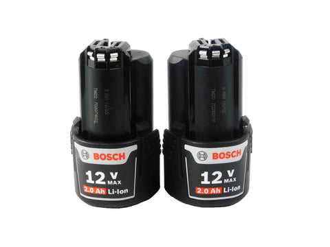Bosch, BAT414, 12V, Max, Lithium-Ion, 2.0Ah, Battery, 2-Pack