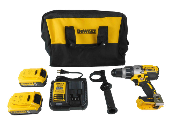 Dewalt, DCD996P2, 20V, Brushless, 3-Speed, Hammer Drill, Kit