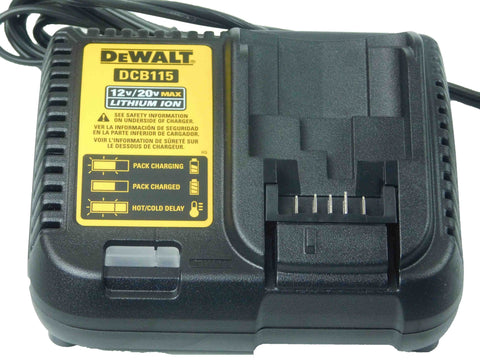 Dewalt, DCB115, Single, Battery, multi-Charger, 12V-20V, Lithium Ion