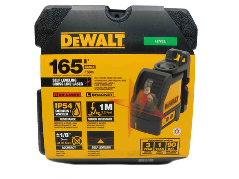 Dewalt DW088K Black and Yellow Laser Level Main Image