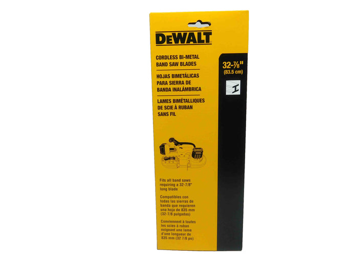Dewalt, DW3983C, 18, TPI, Portable, Band, Saw, Blade, 3-pack, Mass Depot