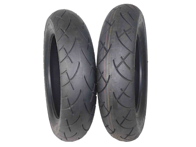Full Bore 130/90-16 Front 150/90-15 Rear Set Cruisers Motorcycle Tires