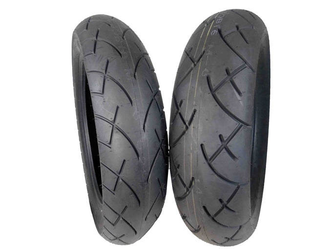Full Bore 130/90-16 Front 170/80-15 Rear Set Cruisers Motorcycle Tire