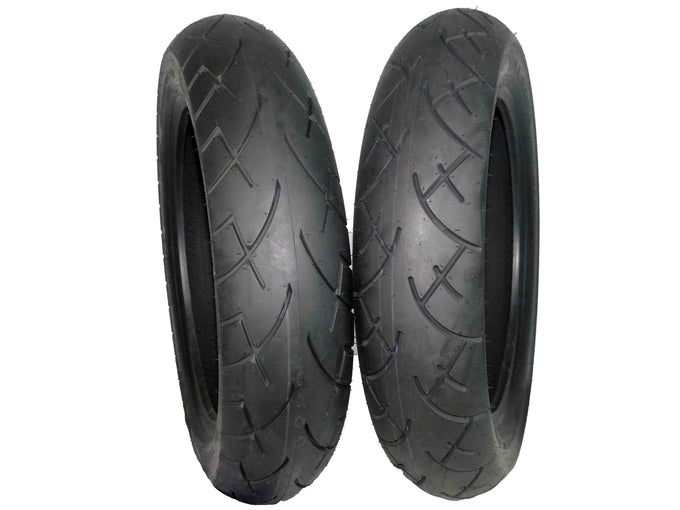 Full Bore 130/90-16 T Front 130/90-16 Rear Cruiser Motorcycle Tires