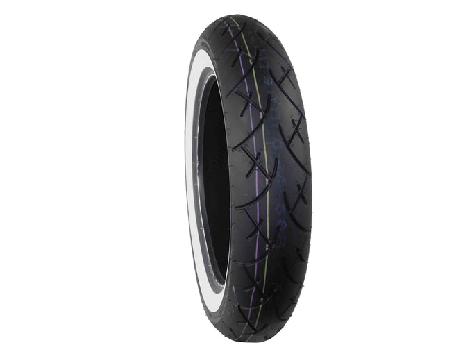 Full Bore 130x90-16 MC 74H White Wall Motorcycle Tire Tread