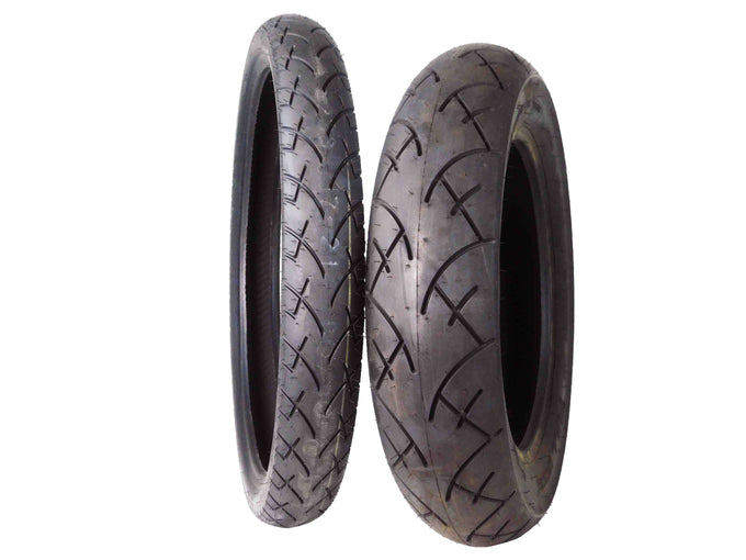 Full Bore 80/90-21 Front 140/90-15 Rear Set Cruisers Motorcycle Tires