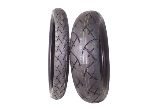 Full Bore 80/90-21 Front 170/80-15 Rear Set Cruisers Motorcycle Tires