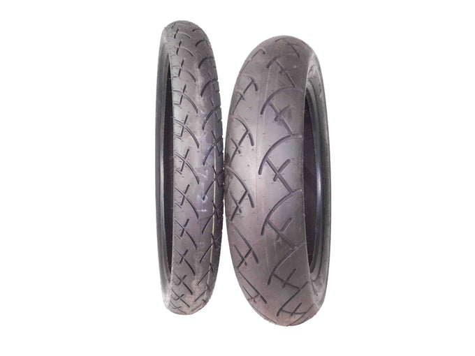 Full Bore 80/90-21 Front 130/90-16 Rear Set Cruisers Motorcycle Tires